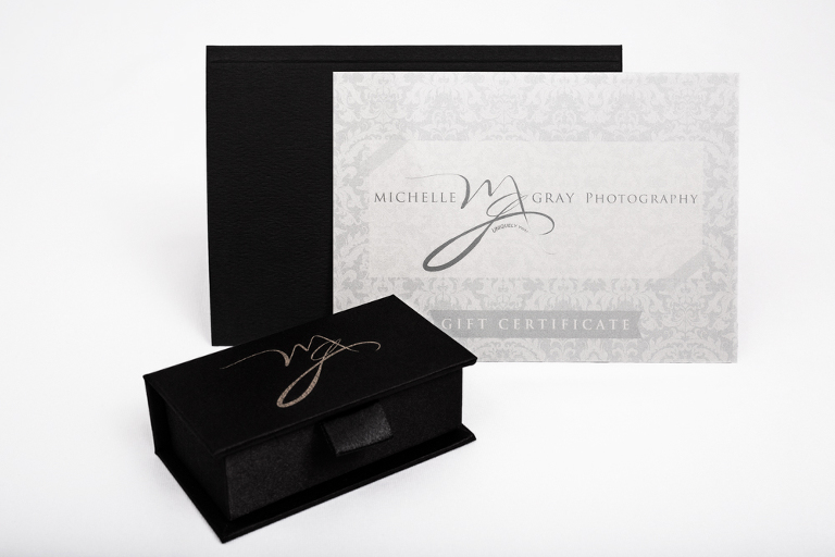 Beautifully presented family, senior or headshot Photography Session gift voucher