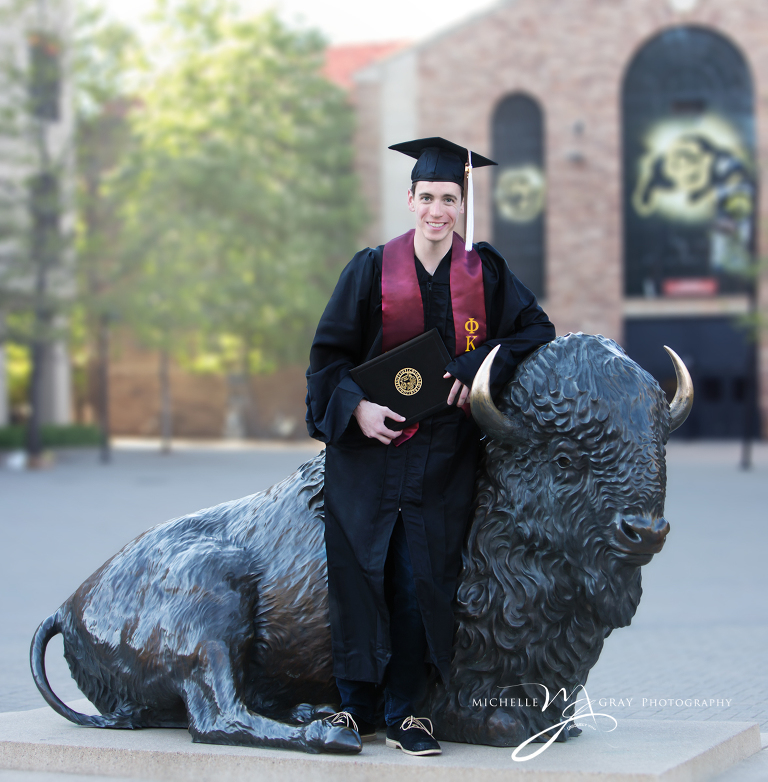 Colorado University Graduatio portrait